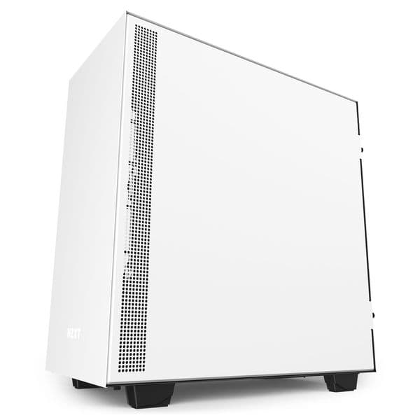 NZXT H510 Elite Matte White / Black Mid Tower Case